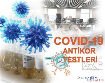 COVID-19 (SARS-CoV-2) ANTİKOR TESTLERİ