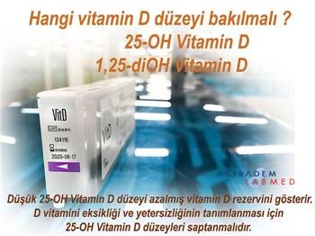 Hangi vitamin D düzeyi bakılmalı?