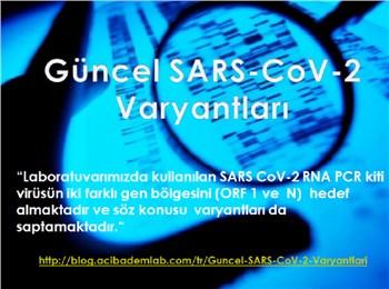 Güncel SARS-CoV-2 Varyantları